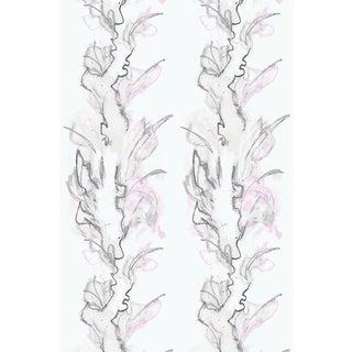 Trellis Flower Bouquet Wallpaper For Sale