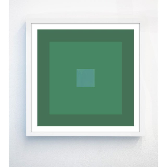 """Contemporary """"Color Study #22"""" Unframed Geometric Print For Sale - Image 3 of 3"""
