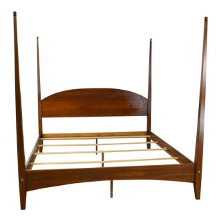 Ethan Allen American Impressions Solid Cherry King Size Poster Bed