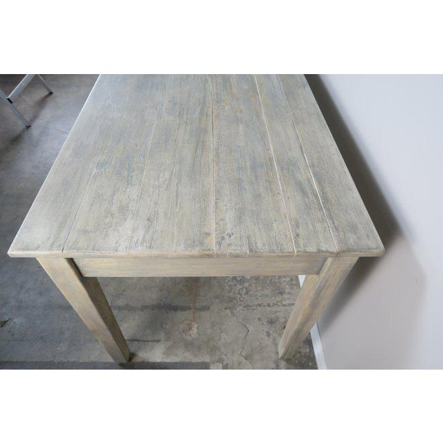 Swedish Painted Farm Table, Circa 1900 For Sale - Image 10 of 11