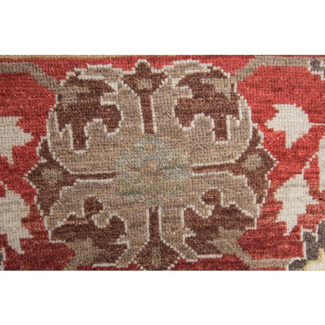 "Wool Sultanabad Rug - 8' x 10'3"" For Sale In New York - Image 6 of 9"