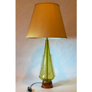 1950s Dino Martens (For Aureliano Toso) Murano Glass Table Lamps - a Pair Preview
