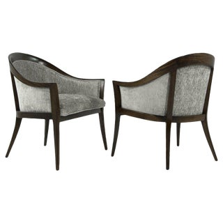 1950s Harvey Probber Saber Leg Lounge Chairs - a Pair For Sale