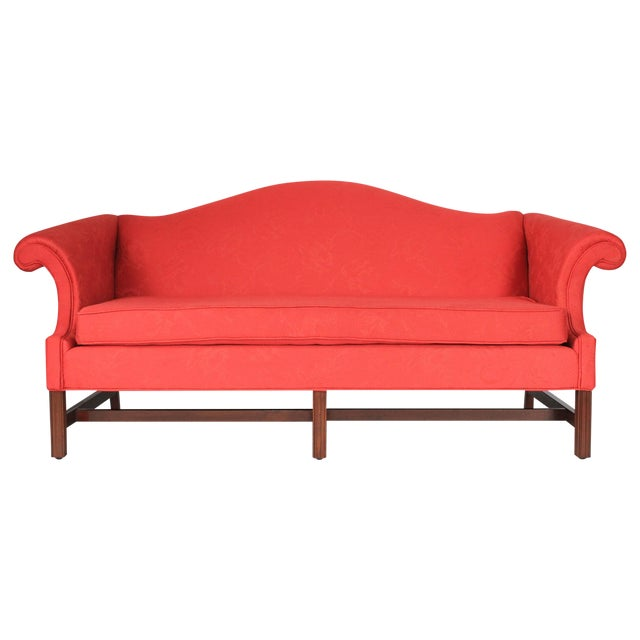 Camel Back Sofa - Image 1 of 7