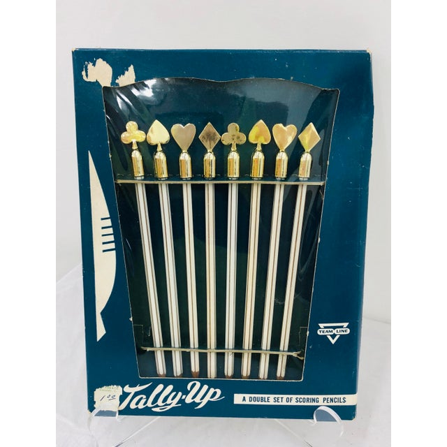 Vintage Set Game Scoring Pencils - Set of 8 For Sale In Raleigh - Image 6 of 6