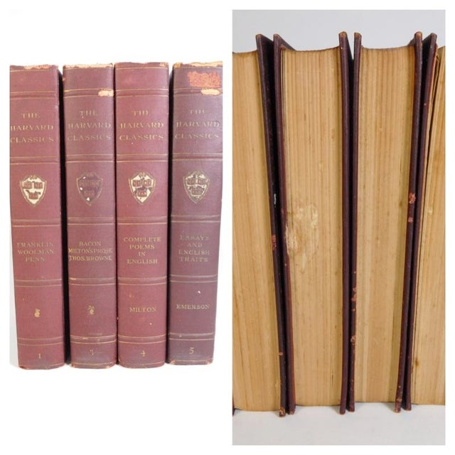 Harvard Classics Book Collection - Set of 46 - Image 11 of 11