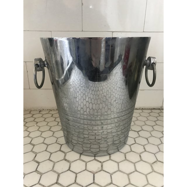 Vintage French Art Deco Andre Leroy Champagne Bucket For Sale - Image 12 of 12