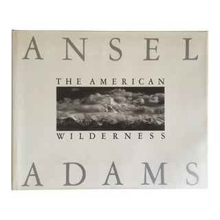 "Ansel Adams "" the American Wilderness "" Rare 1st Edtn Vintage 1990 Monumental Oversized Hardcover Photography Book For Sale"