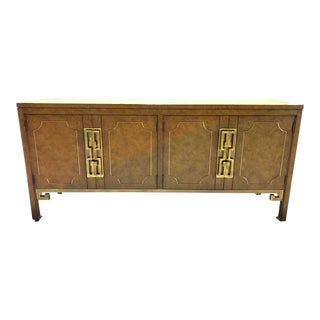1960s Mid-Century Chinoiserie Credenza For Sale