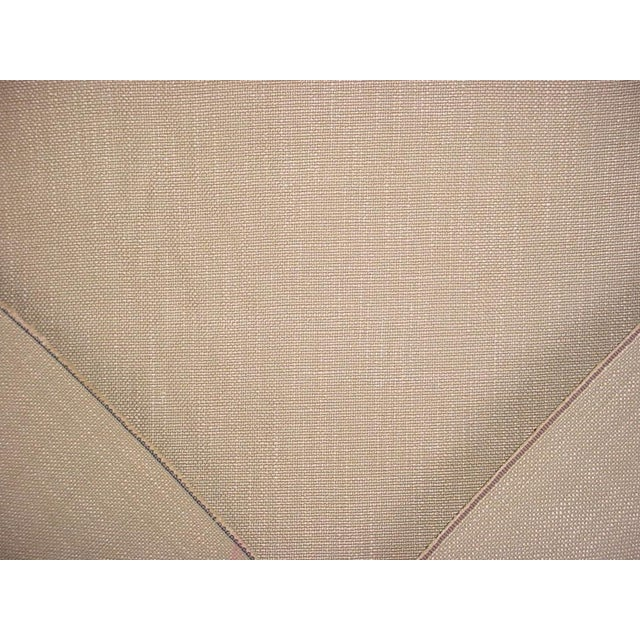 A buttery, textured linen weave in subtle variations of linen beige and sand with a luxurious hand, heavy body and soft...