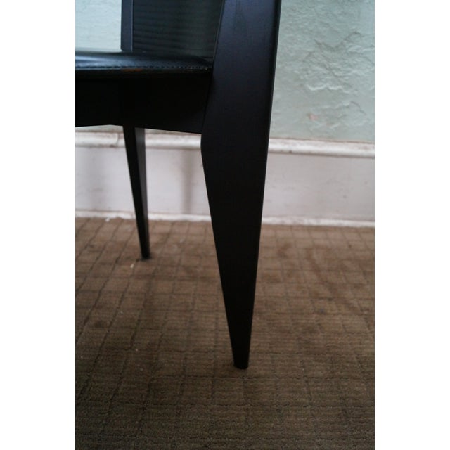 Calligaris Black Italian Dining Chairs - Set of 4 - Image 10 of 10
