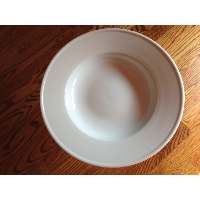 Williams Sonoma White Pedestal Bowl - Image 3 of 4
