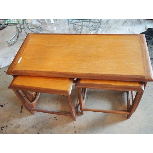 Modern Danish Style Nesting Tables- Set of 3 - Image 4 of 7