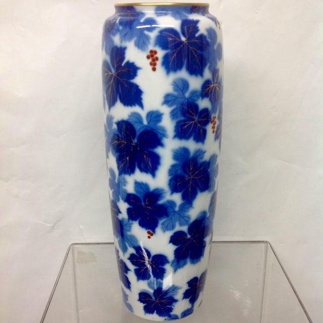 Mid-Century Japanese Porcelain Arita Vase - Image 4 of 7