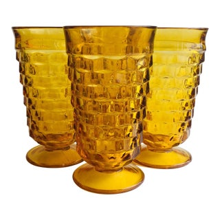 Colony Whitehall Amber Ice Tea Glass - Set of 4