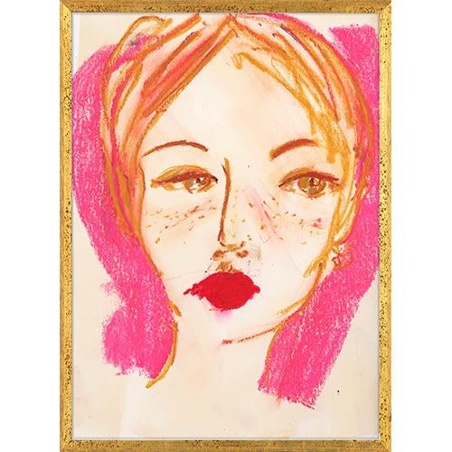 A bold statement in fuchsia, persimmon, and gestural marks. Camille is an ode to ZBC founder Caitlin Dinkins and her...