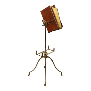 Rolling Iron Book Stand