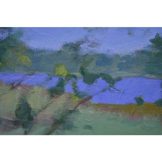 """2010s Stephen Remick """"Ocean Through the Trees"""" Contemporary Plein Air Painting For Sale - Image 5 of 12"""