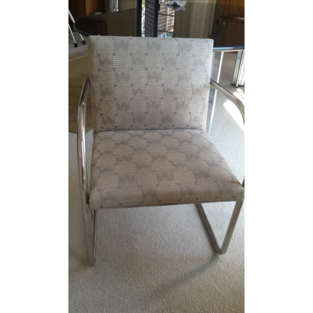 Tubular Knoll Brno Chairs- Set of 6 - Image 3 of 7