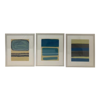 """Nod to Rothko"" Series Original Paintings - Set of 3 For Sale"