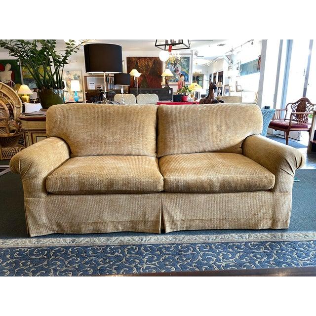 Contemporary Belmar Studio Custom Roll-Arm Sofa For Sale - Image 3 of 13