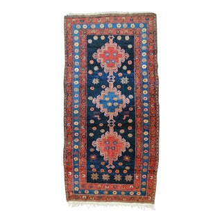 "Vintage Persian Tribal Rug - 3'6"" X 7'"