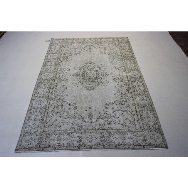 Oriental Overdyed Turkish Rug - 6′1″ × 9′8″ - Image 2 of 9