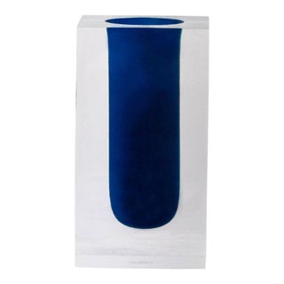 Jonathan Adler Blue Test Tube Vase