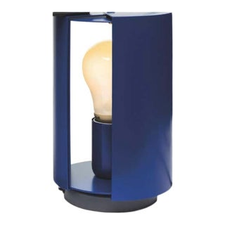 Charlotte Perriand 'Pivotante à Poser' Table Lamp in Blue For Sale