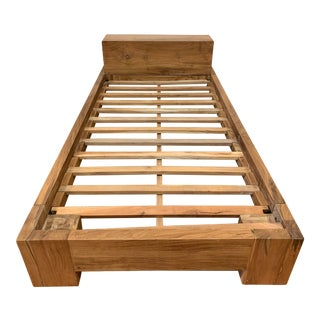 Twin Size Solid Wood Bed Frame For Sale