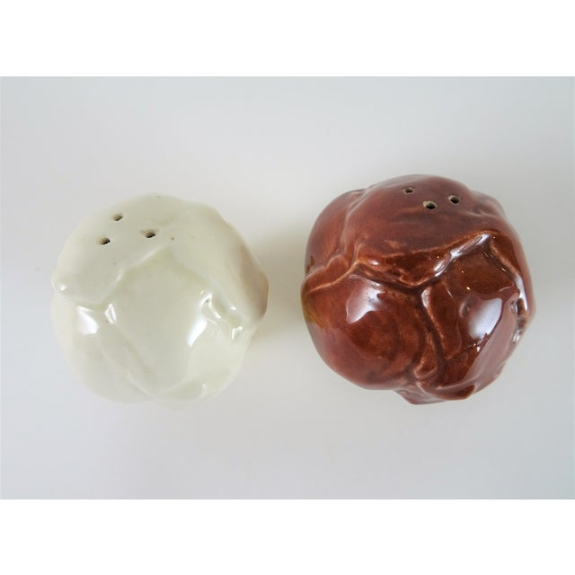 Americana Americana Ice Cream Salt and Pepper Shakers - a Pair For Sale - Image 3 of 6