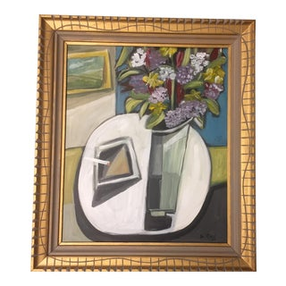 Original Stewart Ross Modernist Still Life Painting