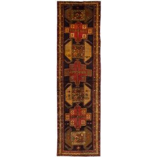 "Meshkin Vintage Persian Rug, 3'4"" x 12'6"" feet"