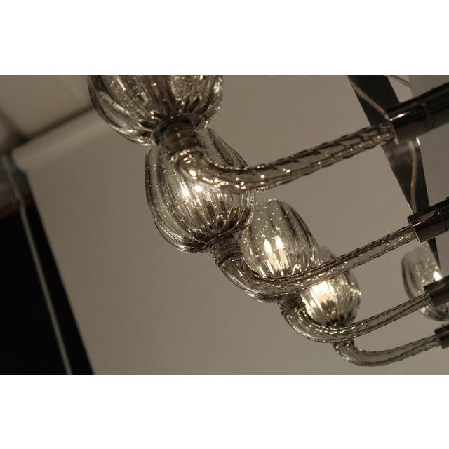 Metal Ferrara Chandelier by Fabio Ltd For Sale - Image 7 of 8