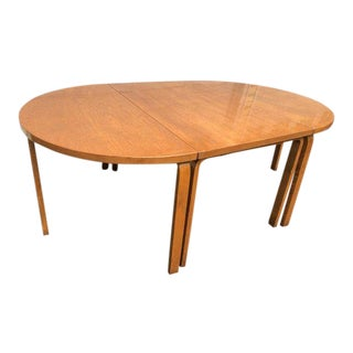 1960s Scandinavian Modern Alvar Aalto Wooden Dining Table