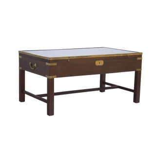 Locking Campaign Style Display Table by LaBarge