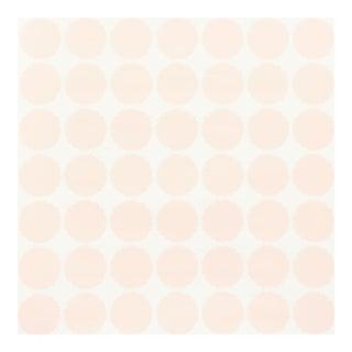 Schumacher Fuzz Wallpaper in Blush For Sale