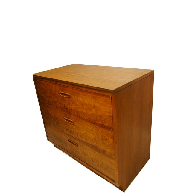 Lane Danish Mid Century Modern 3 Drawer Chest/Dresser - Image 4 of 6