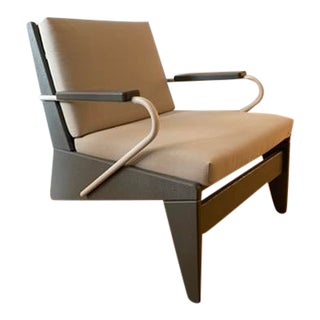 Modern Adirondack Lounge Chair For Sale