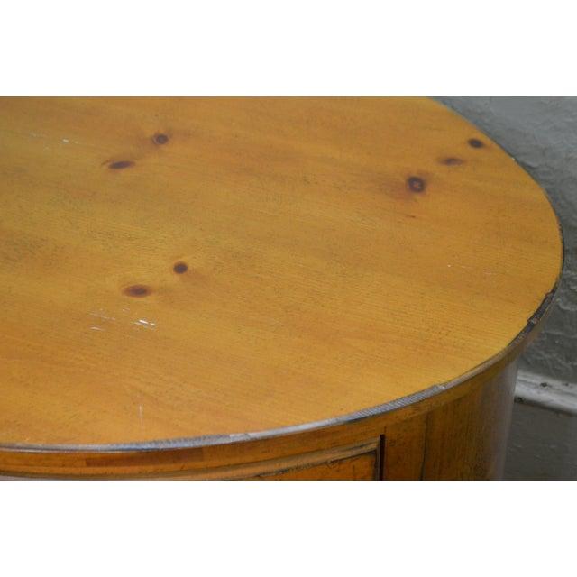 Drexel Heritage Pinehurst Collection Oval Desk For Sale In Philadelphia - Image 6 of 13