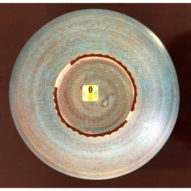 Vintage Italian Raymor Bitossi Pottery Bowl For Sale - Image 5 of 6