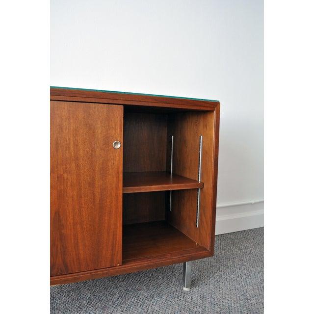 Mid-Century Modern Walnut Cabinet - Image 6 of 10
