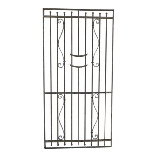 Antique Victorian Iron Gate
