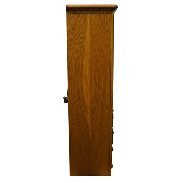 """Thomasville Furniture American Country Collection 40"""" Armoire/Door Chest For Sale - Image 11 of 13"""