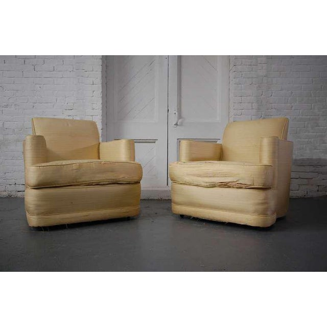 Fabulous Pair of Lounge Chairs For Sale - Image 10 of 10