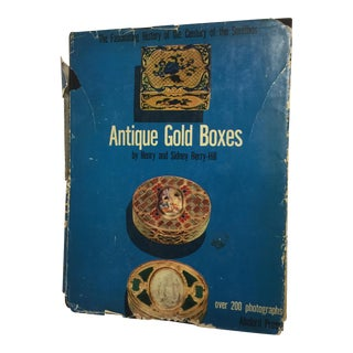 Antique Gold Boxes Henry and Sidney Berry-Hill, 1953 For Sale