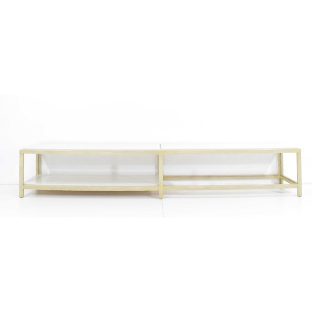 Dunbar Coffee Table or Bench in Light Ash For Sale - Image 11 of 11