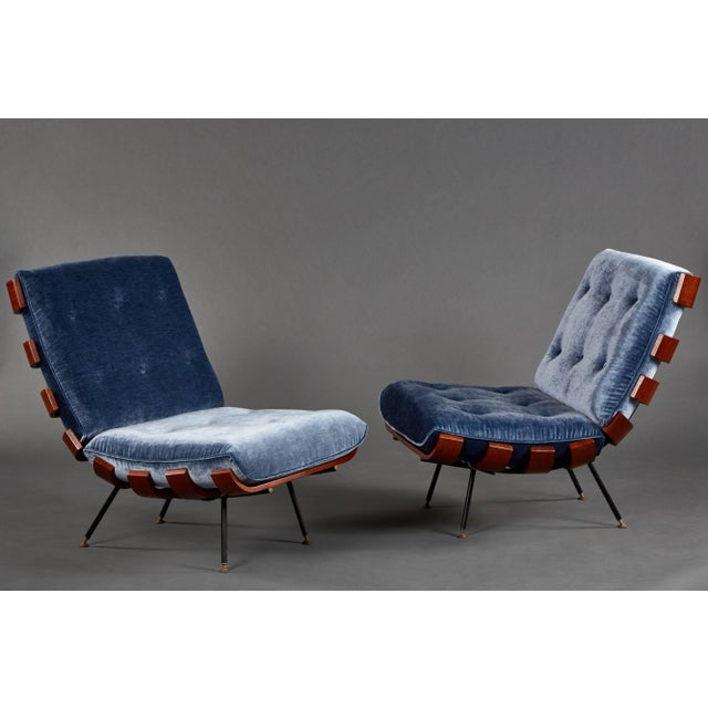 """1950s """"Costela"""" (""""Rib"""") Suite by Carlo Hauner and Martin Eisler For Sale - Image 5 of 11"""