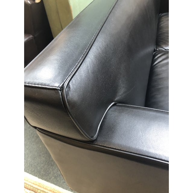Design Within Reach by American Leather Ted Boerner Theatre Two-Seat Sofa For Sale - Image 10 of 13