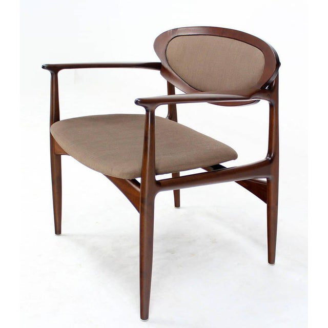 Extra-Wide Mid-Century Danish Modern Lounge Chair by Selig For Sale - Image 10 of 10